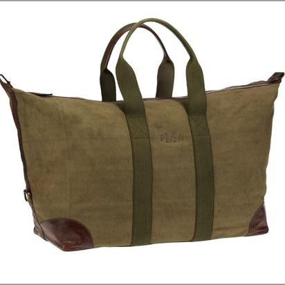 Union Canvas Weekender Bag - Moss
