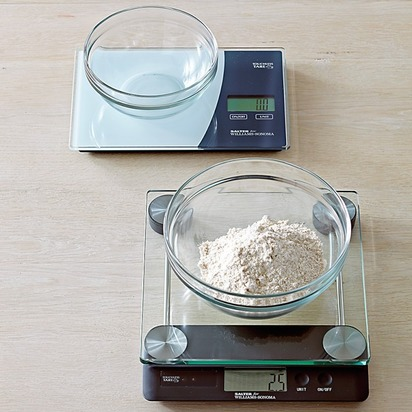 Touchless Tare High-Capacity Glass Scale