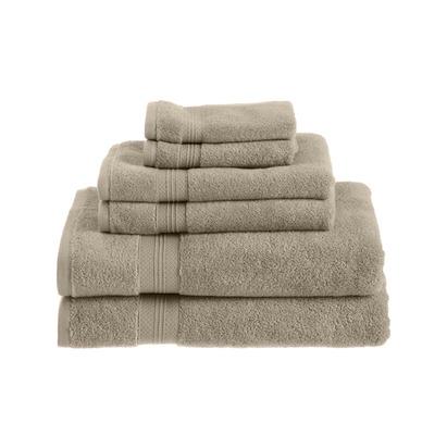 Pinzon Towel Set, Khaki - 6 Piece