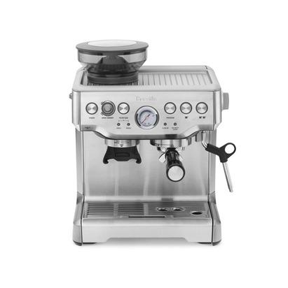 Alisha vernon blueprint registry breville barista express espresso maker model bes870xl silver malvernweather Choice Image