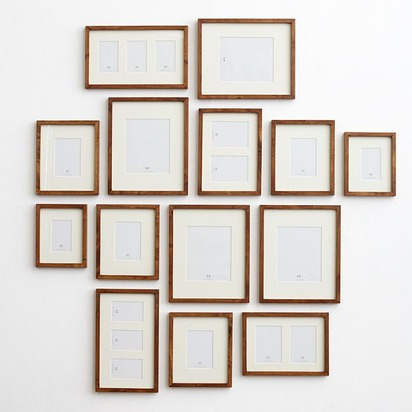 Gallery in a Box - Rustic Wood, Set of 15