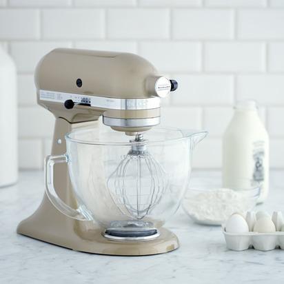 KitchenAid Design Series Stand Mixer - Champagne