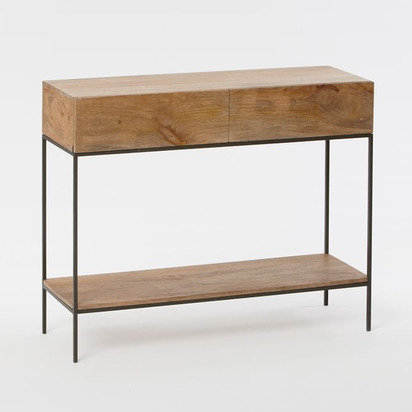Industrial Storage Console, Raw Mango
