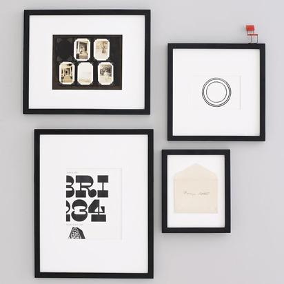 Gallery Frames - Black - Set of 3, 14