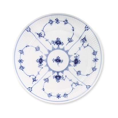 Royal Copenhagen Blue Fluted Plain Dinnerware - Dinner Plate