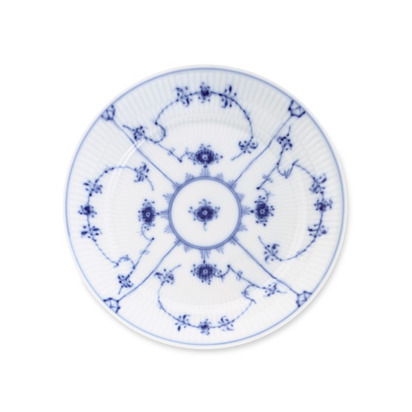 Royal Copenhagen Blue Fluted Plain Dinnerware - Salad Plate