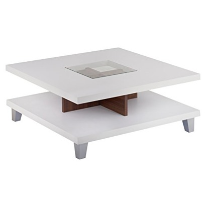 Brittany nikolaus blueprint registry iohomes lendon square coffee table white color white walnut size 315 malvernweather Image collections