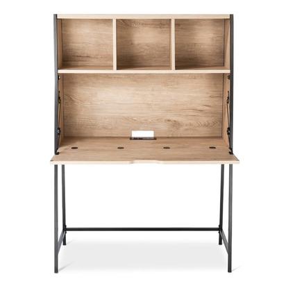 Darley Secretary Desk - Vintage Oak - Threshold