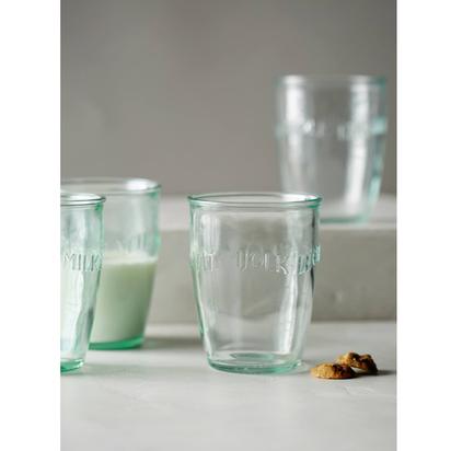 Euro Milk Glass Set