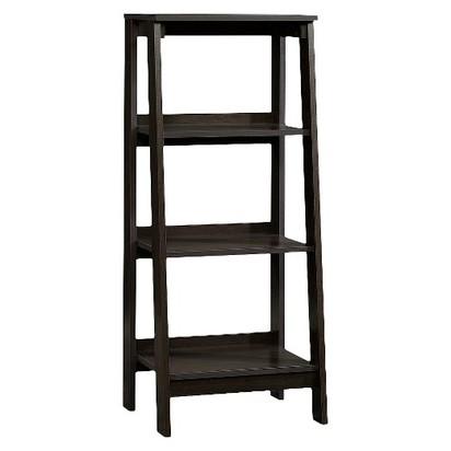 3-Shelf Trestle Bookcase Espresso - Room Essentials