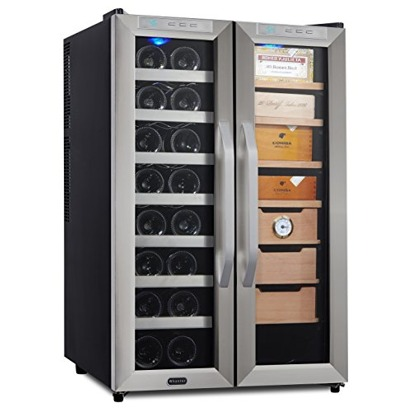 Dallas olivia blueprint registry wine cooler and cigar humidor center malvernweather Image collections