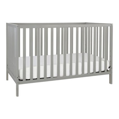 Union 3-in-1 Convertible Crib - Grey Finish