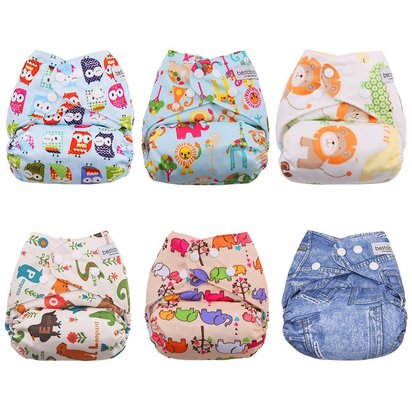 BESTOBABY Baby Cloth Pocket Diapers - BETB-PACK-P2