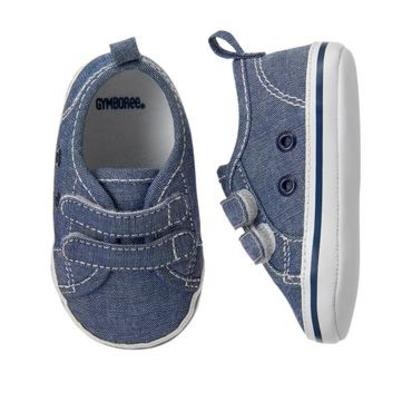 Chambray Sneakers - Size 2