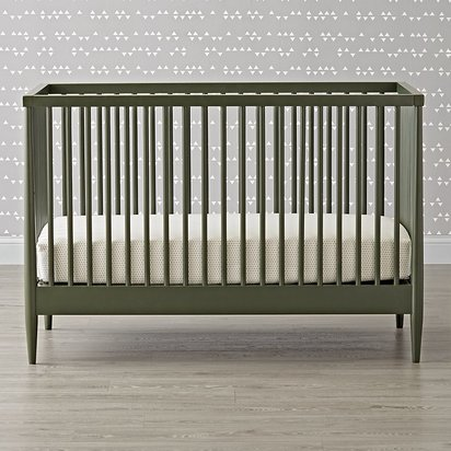 Hampshire Olive Crib - Olive