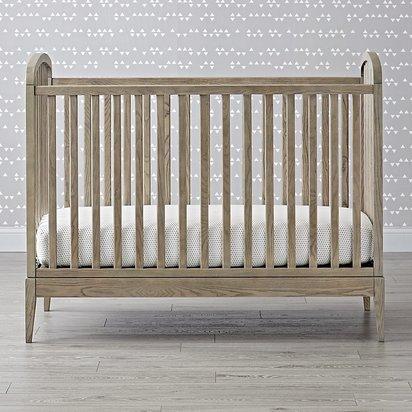 Archway Crib - Grey Stain