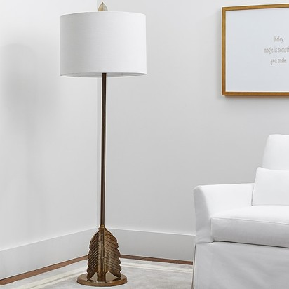 The Emily & Meritt Arrow Natural Complete Floor Lamp