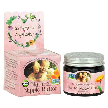 Earth Mama Angel Baby Natural Nipple Butter - 2 oz.