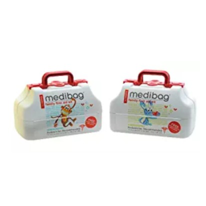 medibag 117 Piece Kid Friendly First Aid Kit for the Whole Family