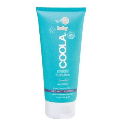COOLA® Suncare Unscented Baby Mineral Moisturizer SPF 50