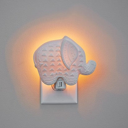 Ceramic Elephant Nightlight