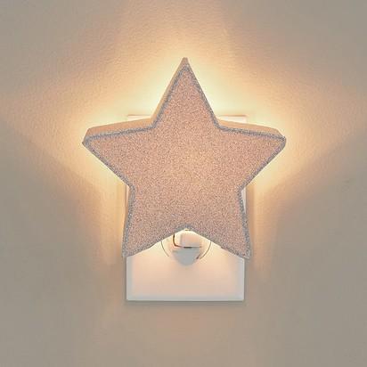 Glitter Star Nightlight