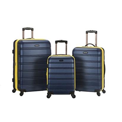 Sapna ryan blueprint registry amazon rockland melbourne 3 piece abs luggage set navy one size malvernweather Choice Image