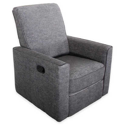 Abbyson Living® Emma Nursery Swivel Glider Recliner - Grey