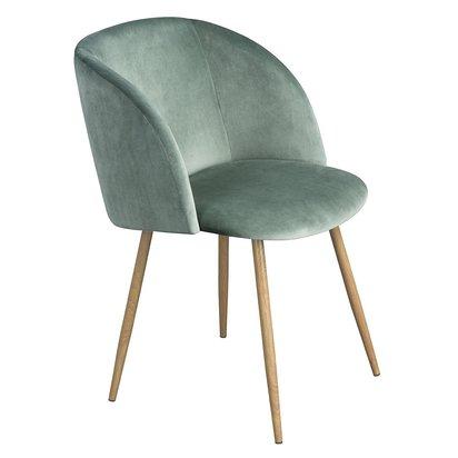 Modern Velvet Living Room Accent Chair - Light Green