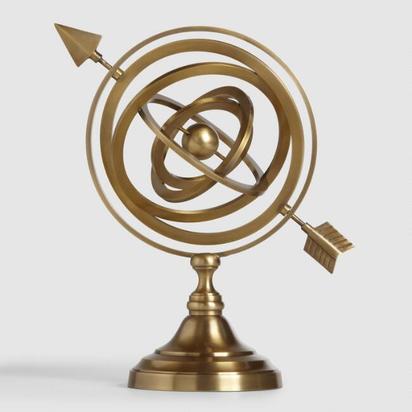 Gold Armillary Sphere