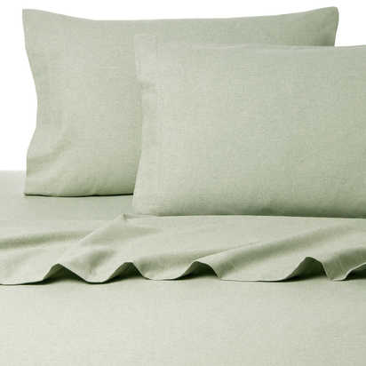 Belle Epoque La Rochelle Collection Sol Heathered Flannel Sheet Set