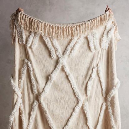 Aldalora Throw Blanket - Neutral