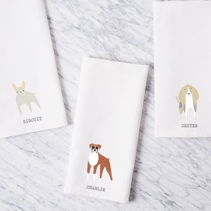 Dog Tea Towels